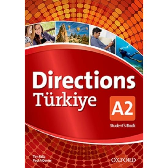 Directions Türkiye A2 Student's Book + workbook with Online Practice and CD-ROM