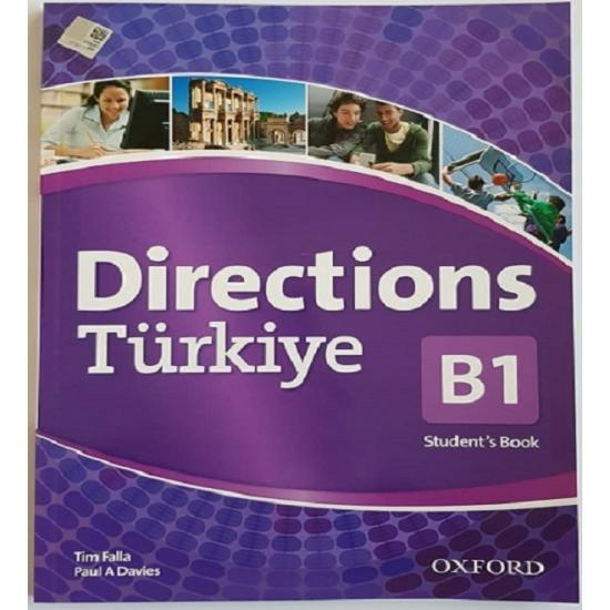 Directions Türkiye B1 Student's Book + workbook with Online Practice and CD-ROM